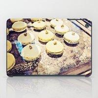 macaron iPad Cases featuring macaron by inourgardentoo