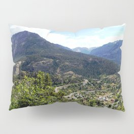 Ouray - At the Mouth of the Uncompahgre Gorge Pillow Sham