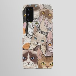 A lot of Cats Android Case