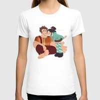 wreck it ralph T-shirts featuring Ralph & Vanellope by Violet's Corner