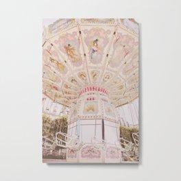 Swings in Paris  Metal Print