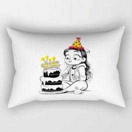 Still not an adult Rectangular Pillow
