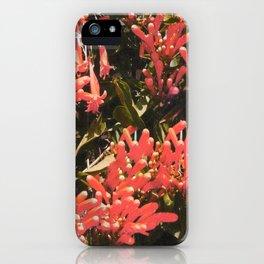 mystic floral iPhone Case