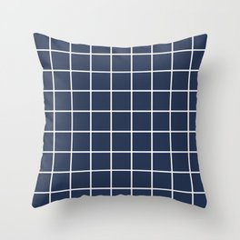 BOLD GRID Throw Pillow