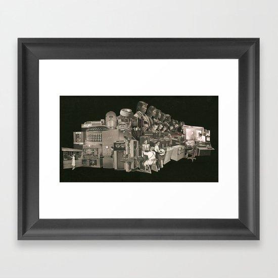 The Machine Framed Art Print