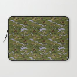 Vicuñas and Flamingoes Laptop Sleeve