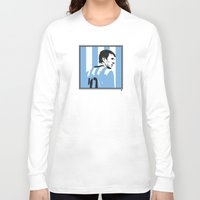 messi Long Sleeve T-shirts featuring Messi Argentina by lockerroom51