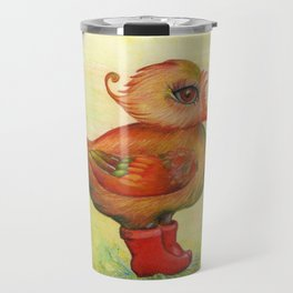 Autumn and Snozzleberryduck Travel Mug