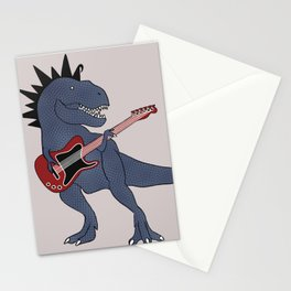 He-Rex Electric Guitar Stationery Cards