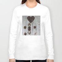 valentine Long Sleeve T-shirts featuring Valentine by Johann Brincks
