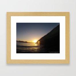 jah sunrise Framed Art Print