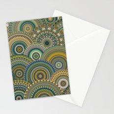 Mandala Mania-Mineral colors Stationery Cards