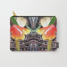 Red and Yellow Mushroom Carry-All Pouch