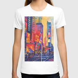 Times Square New York T-shirt
