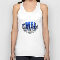 montreal Tank Tops featuring Rep your City: Montreal by Greg Dubois aka. marvelgd
