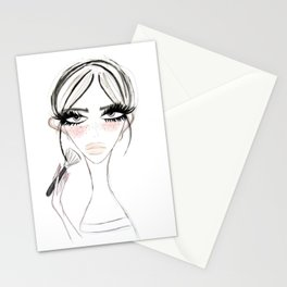 Morning Make Up Stationery Cards