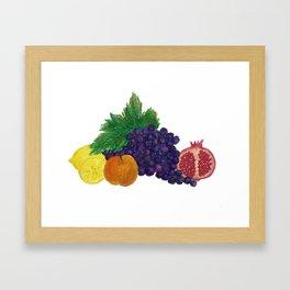 Fruit still-life Framed Art Print