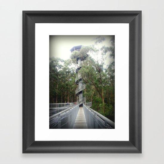 Otway Fly - Spiral Framed Art Print