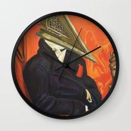 Baron Pyramid Head Wall Clock