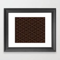 Tribal Pattern 1-1 Framed Art Print