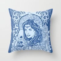 gypsy Throw Pillows featuring Gypsy by albertsurpower