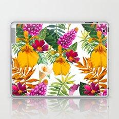 Tropical Floral Pattern Laptop & iPad Skin