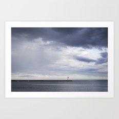 The Lighthouse 1 Art Print