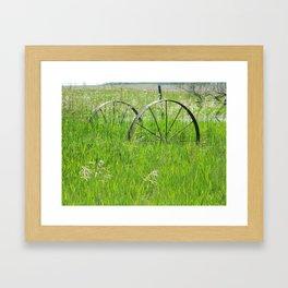 Keep on rollin' Framed Art Print