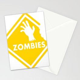Halloween Zombie Stationery Cards