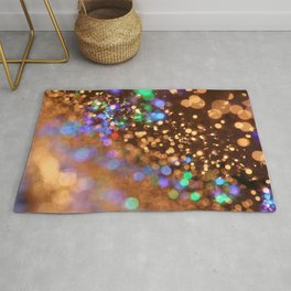 Chocolate Space Party Rug