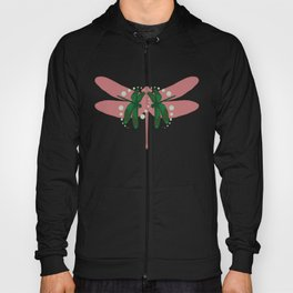 pattern with dragonflies 2 Hoody