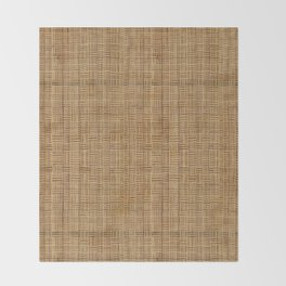 Wicker  Throw Blanket