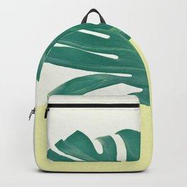 Monstera Dip II Backpack