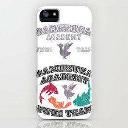 Samezuka - Duck iPhone Case