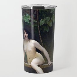 TRUTH COMING OUT OF HER WELL TO SHAME MANKIND - JEAN-LEON GEROME Travel Mug