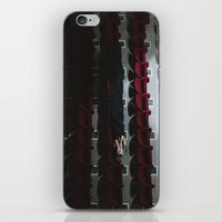 theatre iPhone & iPod Skins featuring Theatre girl by Jovana Rikalo