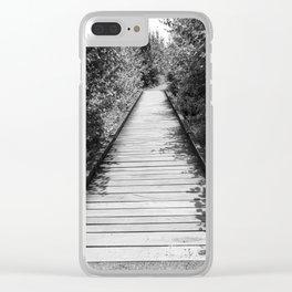 Mt. A Long Bridge Clear iPhone Case