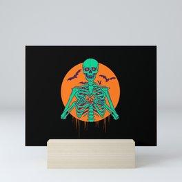 I Love Halloween Mini Art Print