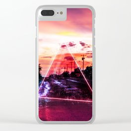 Runaway Clear iPhone Case