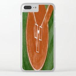 Bassballfield II Clear iPhone Case