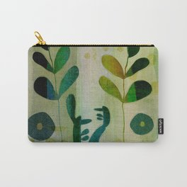 Yellow garden Carry-All Pouch