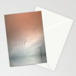 Flight of the Swans Stationery Cards