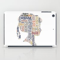 anna iPad Cases featuring Anna by MollyW