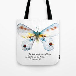 He Has Made All Things Beautiful Tote Bag