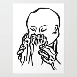 Creep Bouquet Art Print