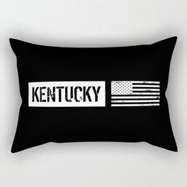U.S. Flag: Kentucky Rectangular Pillow