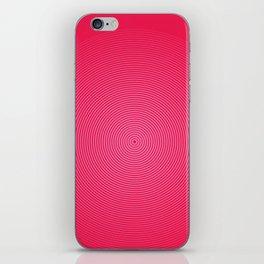 PinkonRed iPhone Skin