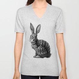 Ornate Rabbit Unisex V-Neck