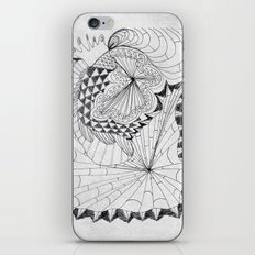 My Bed iPhone & iPod Skin
