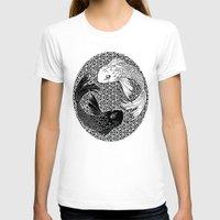 yin yang T-shirts featuring Yin &Yang by ZE-DESIGN